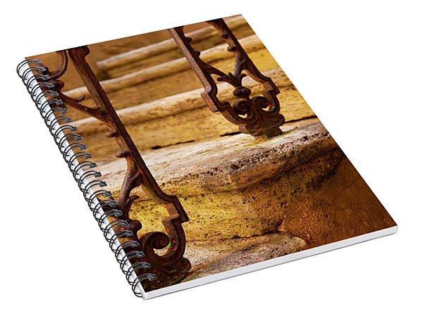 Ancient Steps Spiral Notebook
