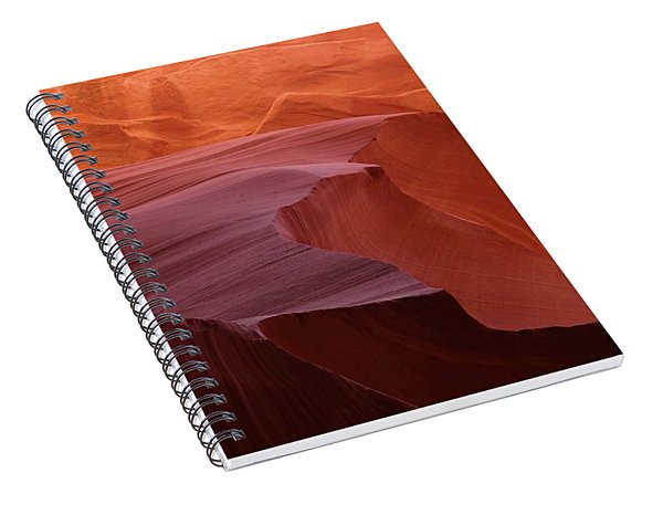 Antelope Canyon Wave Spiral Notebook