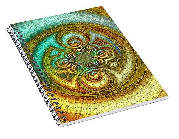 Antiquity's Gold 1 Spiral Notebook