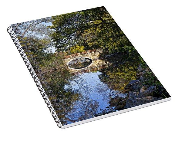 Arboretum Drive Bridge - Madison - Wisconsin Spiral Notebook
