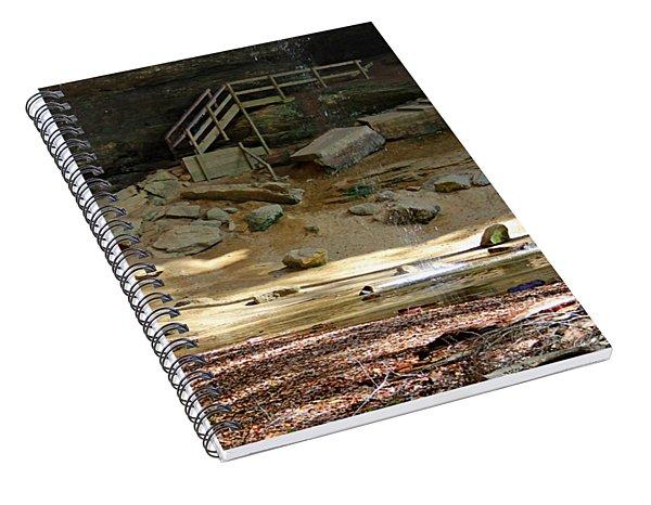 Ash Cave In Hocking Hills Spiral Notebook
