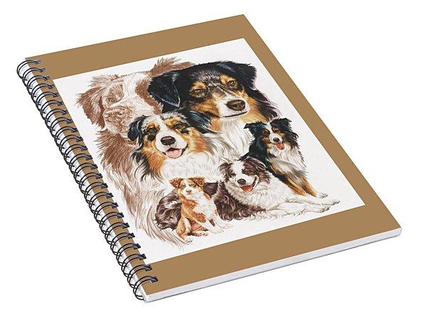 Australian Shepherd Revamp Spiral Notebook