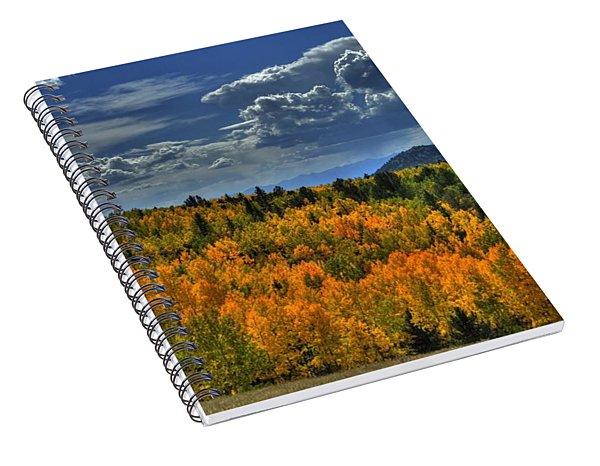 Autumn In Colorado Spiral Notebook