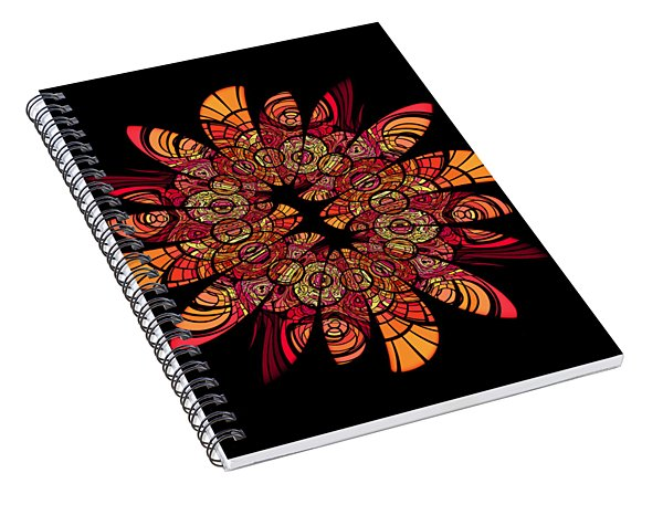 Autumn Wreath Spiral Notebook