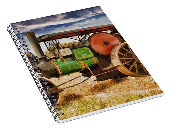 Aveling Porter Road Roller Spiral Notebook