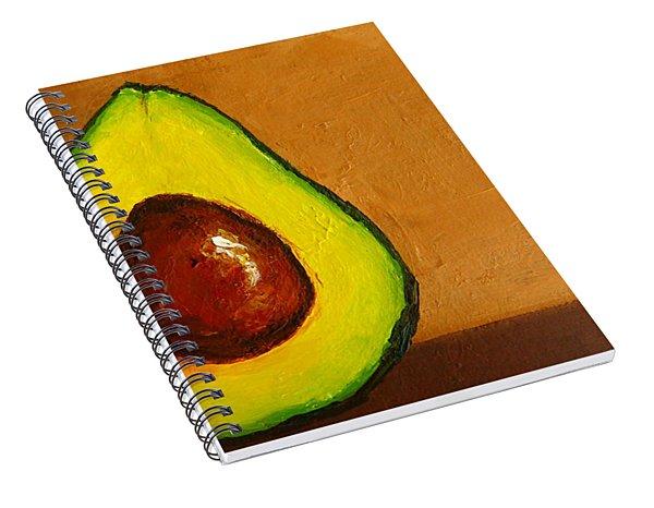 Avocado Palta Vi Spiral Notebook