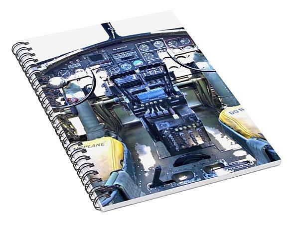 B-17 Front Office Spiral Notebook