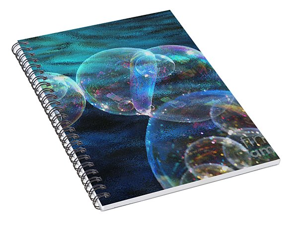 Baby Bubbles Spiral Notebook