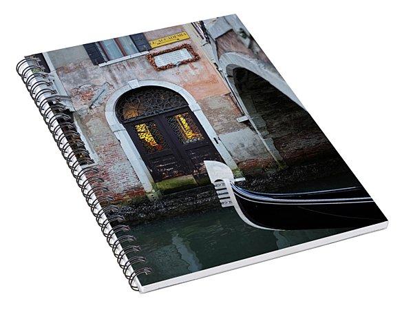 Back Through Time Spiral Notebook