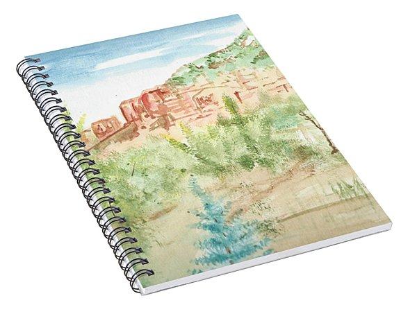 Backyard Sedona Spiral Notebook