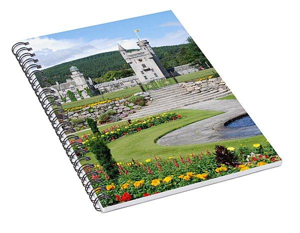 Balmoral Castle In Summer Spiral Notebook