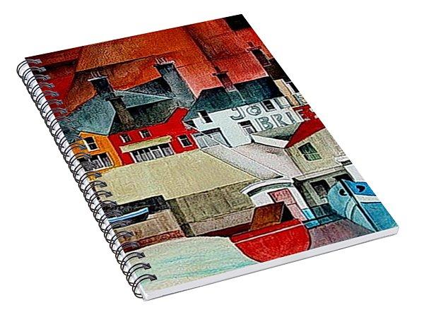 Baltimore Panorama West Cork Spiral Notebook
