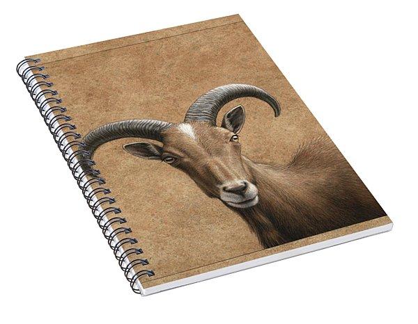 Barbary Ram Spiral Notebook