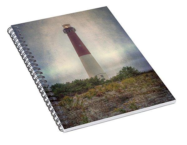 Barnegat Lighthouse Dawn Spiral Notebook