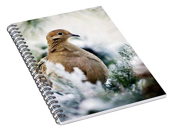 Beautiful Dove Spiral Notebook