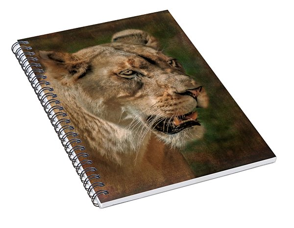 Beautiful Kaya Spiral Notebook