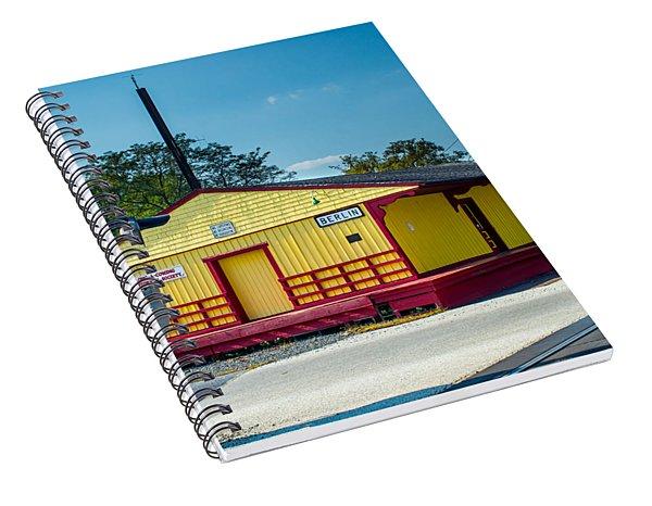 Berlin Train Station Spiral Notebook