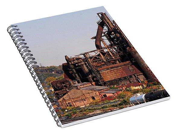 Bethlehem Steel # 8 Spiral Notebook
