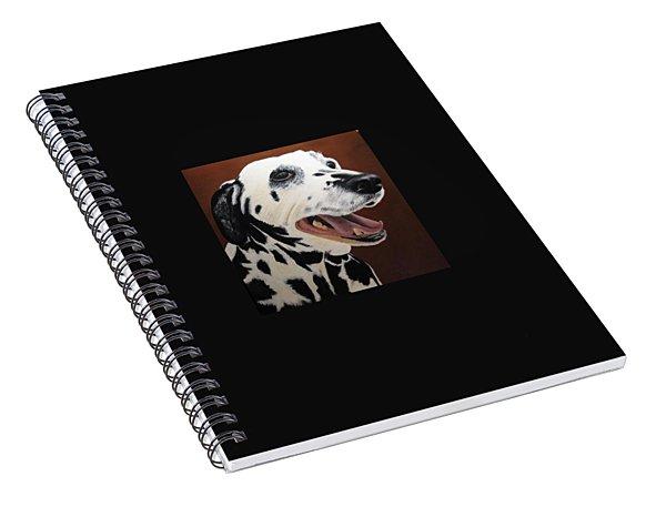 Bianca Rob's Dalmatian Spiral Notebook