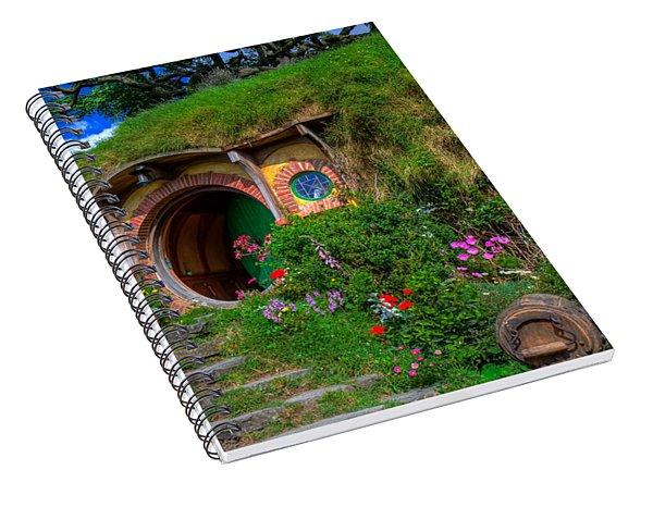 Bilbo Baggin's House 5 Spiral Notebook