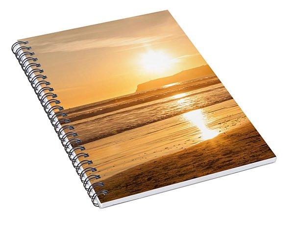 Bird And His Sunset Spiral Notebook