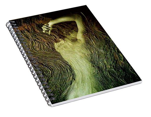 Birth Of A Dryad Spiral Notebook