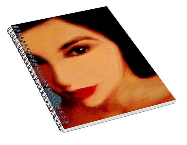 Black-eyed Beauty Spiral Notebook