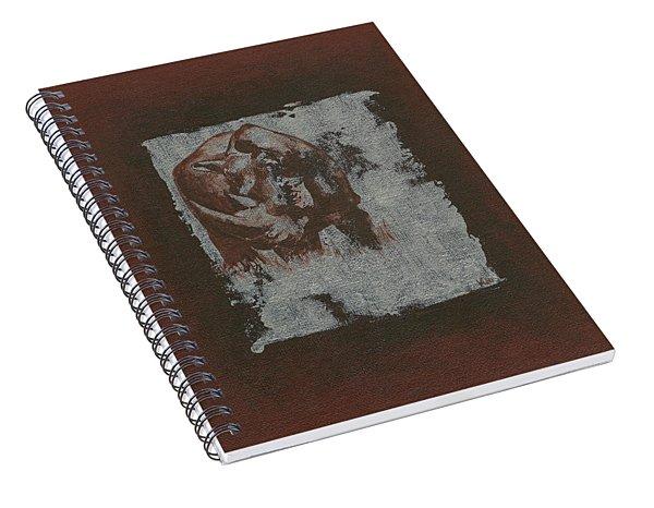 Black Rhino Spiral Notebook
