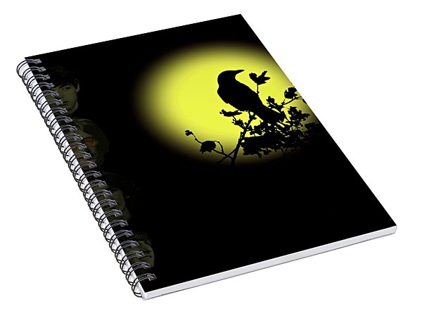 Blackbird Singing In The Dead Of Night Spiral Notebook