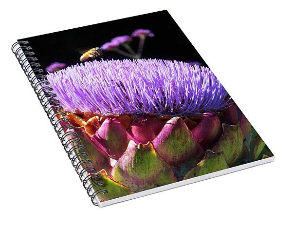 Blooming 'choke Spiral Notebook