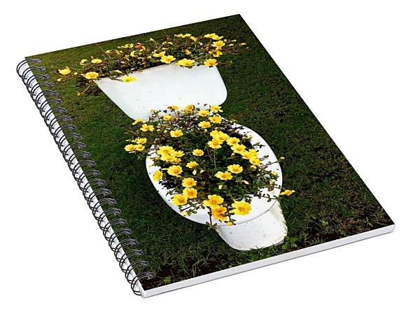 Blooming Loo Spiral Notebook