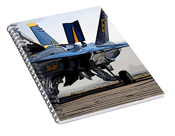 Blue 6 Runup Spiral Notebook
