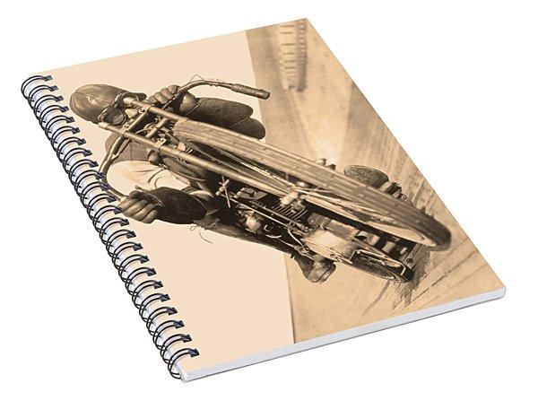 Board Track Racer Spiral Notebook
