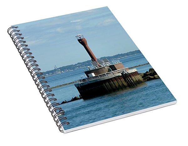 Boston Harbor Lighthouse Spiral Notebook