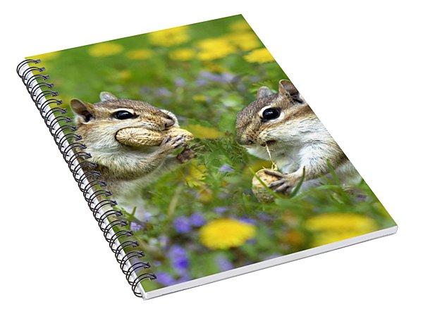 Bountiful Generosity Spiral Notebook