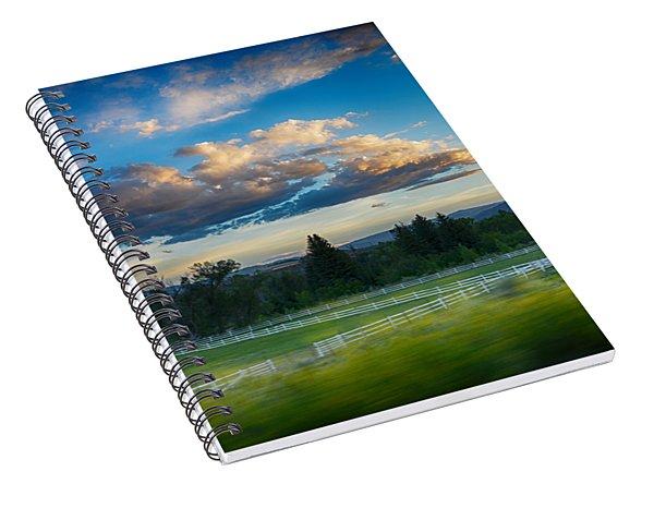 Breathtaking Colorado Sunset 1 Spiral Notebook