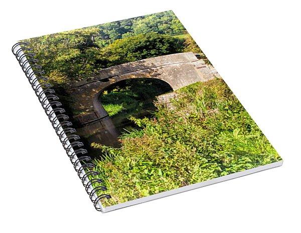 Bridge Over Still Waters Spiral Notebook