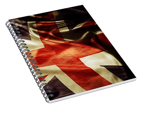 British Flag 1 Spiral Notebook
