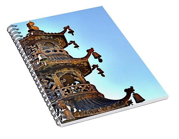 Buddhist Bells Spiral Notebook