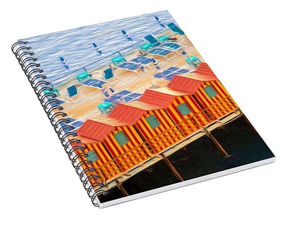 Cabanas Of Sorrento Spiral Notebook