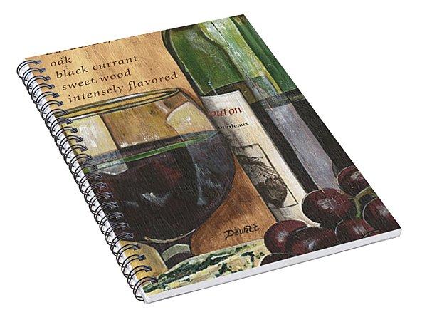 Cabernet Sauvignon Spiral Notebook