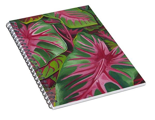 Caladiums Spiral Notebook