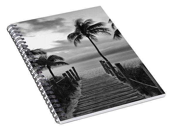 Calm Before Storm Spiral Notebook