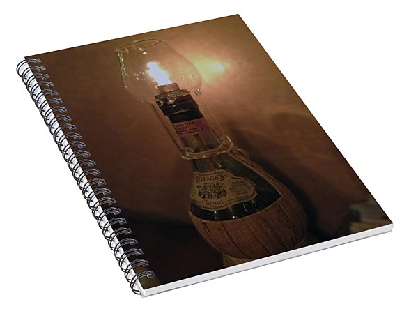 Candlelight Spiral Notebook