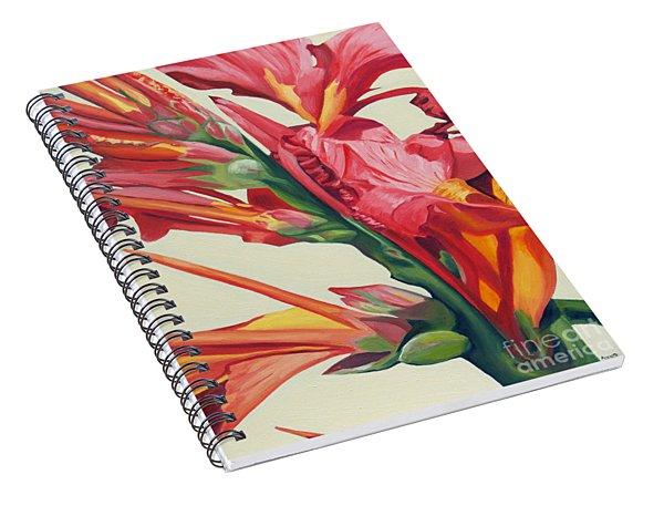 Canna Lily Spiral Notebook