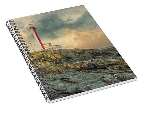 Cape Forchu  Spiral Notebook