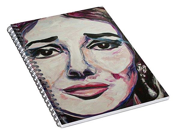 Casta Diva Spiral Notebook