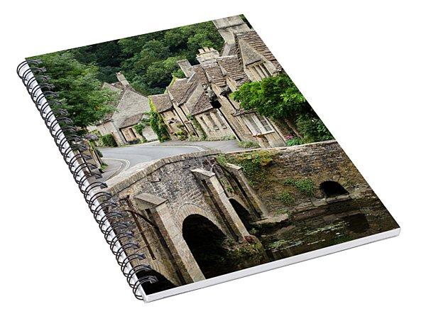 Castle Combe Cotswolds Village Spiral Notebook