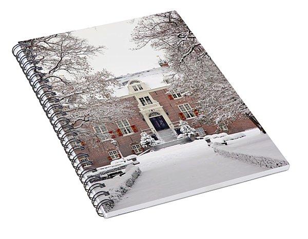 Castle In Winter Dress  Spiral Notebook