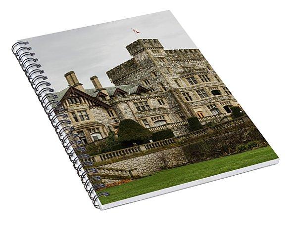 Hatley Castle Spiral Notebook